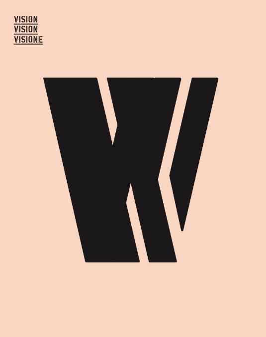 Typografie W für Broschüre Raiffeisen Forum Bern von EightyNine, Agentur für Corporate Design und Grafik in St. Gallen, Schweiz