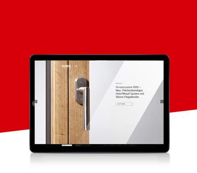 Responsive Webseite Huber Fenster von EightyNine, Agentur für Corporate Design und Grafik in St. Gallen, Schweiz